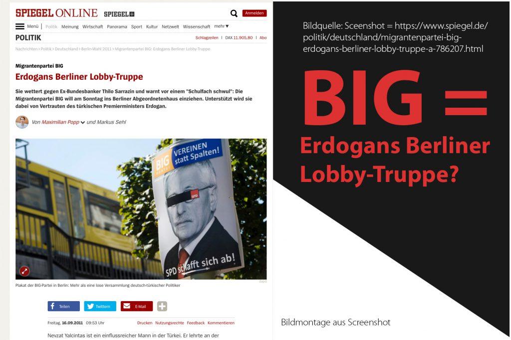 Big Partei Duisburg